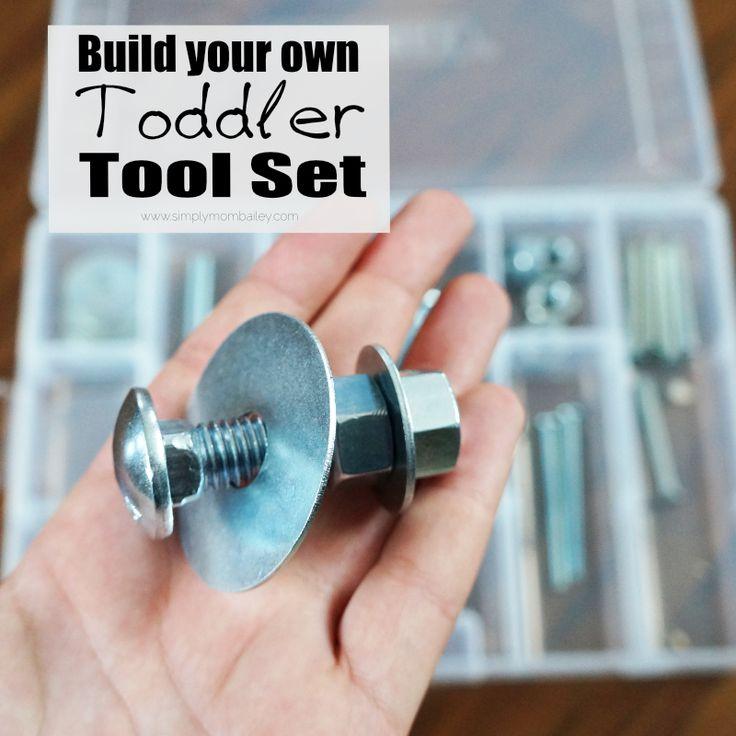 DIY Toddler Tool Set