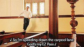 Objectively Fantastic & Now on Fridays! — ♪ God's my EZ Pass ♪