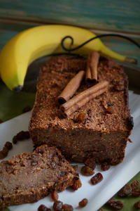 Rezept: Gesunder Kuchen: Haferflocken-Bananen-Brot