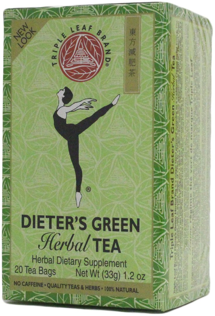Triple Leaf Dieters Green Tea .