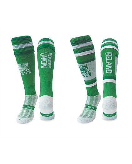 Rugby World Cup 2015 IRELAND country collection - RWC 2015 Ireland Socks