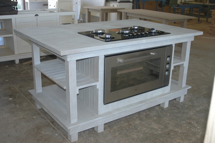 Countertop Oven With Hob : African Allure Centre Island with Hob & Oven: Kitchens Remodel, Dreams ...