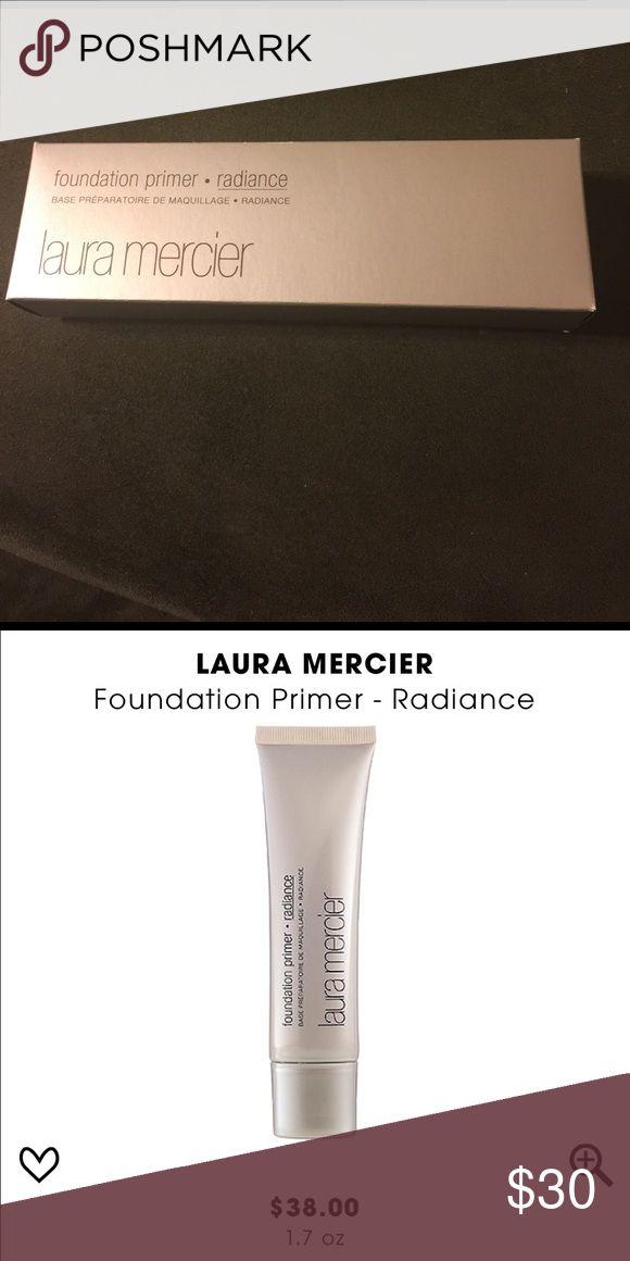 Laura Mercier Radiance Foundation Primer Laura Mercier Radiance Foundation Primer New in box never used. Largest size 1.7fl oz. 100% Authentic. No Trades Laura Mercier Makeup Face Primer