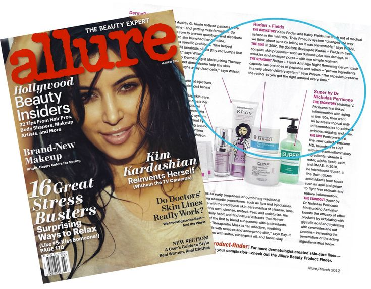 Rodan + Fields has done it again!! We've ended up in the Allure Magazine with 5…