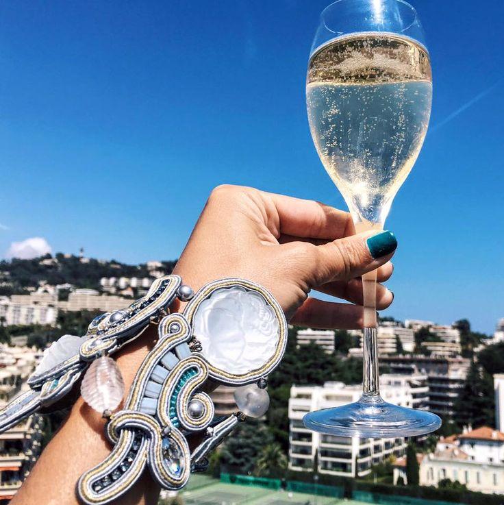 Karine, Yasalam fashion blogger is celebrating the good life at Cannes Film Festival.  #DoriCsengeri #statementbracelet #cannesfilmfestival #cannes2016 #fashionblog #fashionblogger #lifestyle