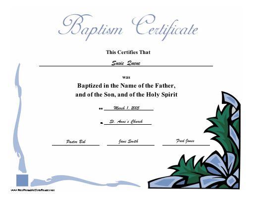 11 best American Fellowship Church images on Pinterest American - best of ordination certificate free