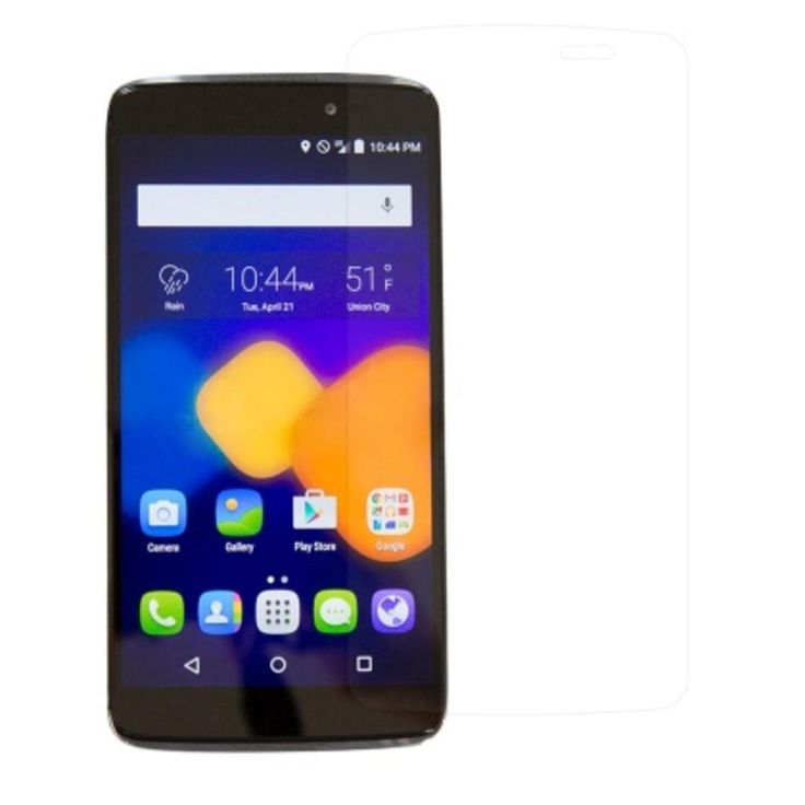 Reiko Two Pieces Screen Protector Alcatel Onetouch Idol 3 5.5Inches Clear