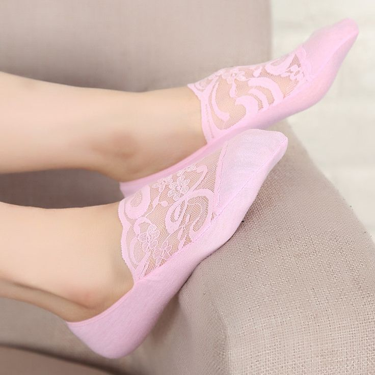 Fashion Women's Lace Antiskid Invisible Boat Sock Summer Thin Breathable Short Ankle Socks  women fashion accessories