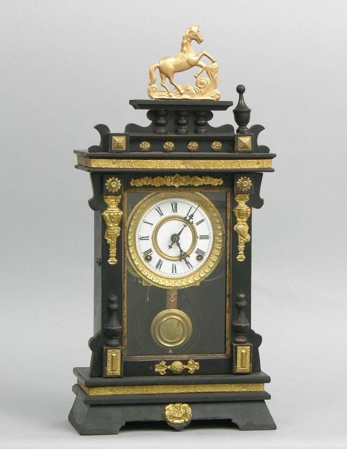 An Antique Mantel Clock