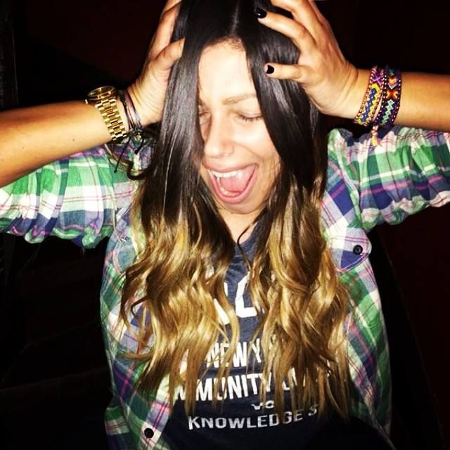 Penny wearing #Dida_Di #Friendship #Boho #Bracelets