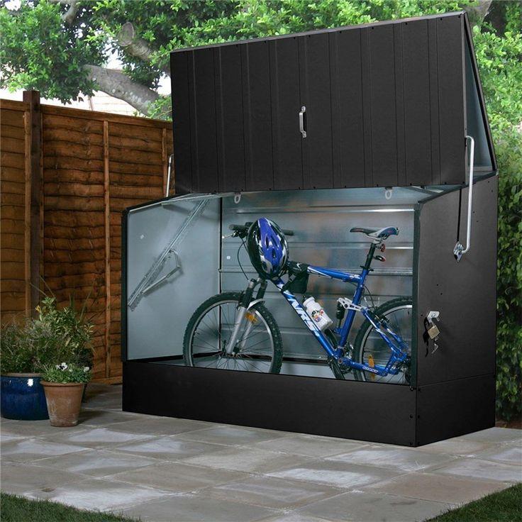 Förvaringsbox GOP Bicycle store Antracit  - Dynbox & dynlåda - Utomhusförvaring