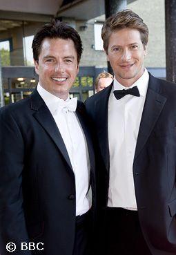 John Barrowman & Scott Gill - See more:http://crazycatt71.tumblr.com/tagged/John+Barrowman+%26amp%3B+Scott+Gill/page/2