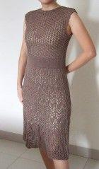 Koronkowa sukienka Shirley Paden - Vogue Knitting, wiosna / lato 2008. Zapytaj LiveInternet - rosyjskie Diaries usługi online