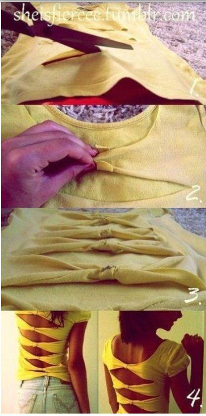Homemade shirt !