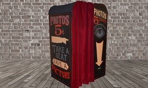 Groupon - $ 385 for $700 Worth of Photo-Booth Rental — 5 Cent Photo Booth in San Francisco. Groupon deal price: $385