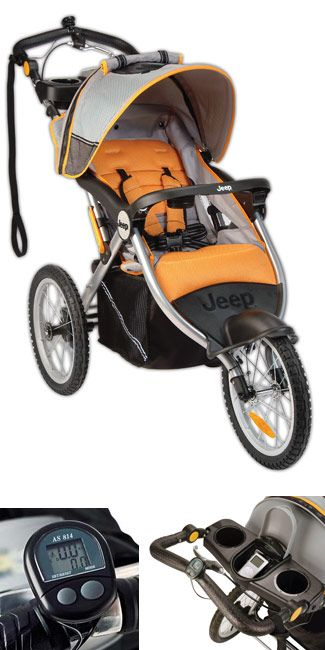 Jeep Jogging Stroller in Fierce $175 on Amazon.  LOVE this, & definitely on my MUST buy list for future babies!