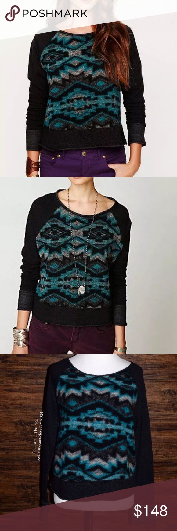 FREE PEOPLE Classic Sweater Top Bohemian Pullover Size Small. Good Condition. $148 MSRP + Tax.  • Beautiful patterned pullover featuring patchwork detailing throughout. • Intentional raw seams and fuzzy aspect. • Patched elbows with long sleeves. • By Dolan for Free People. • GUC: Fabric wear such as pilling. • No rips, stains, tears or holes. • Wool, Polyester, Rayon, Lycra. • Made in the USA.   {Southern Girl Fashion - Closet Policy}   ✔️ Same-Business-Day Shipping (10am CT). ✔️ Price…