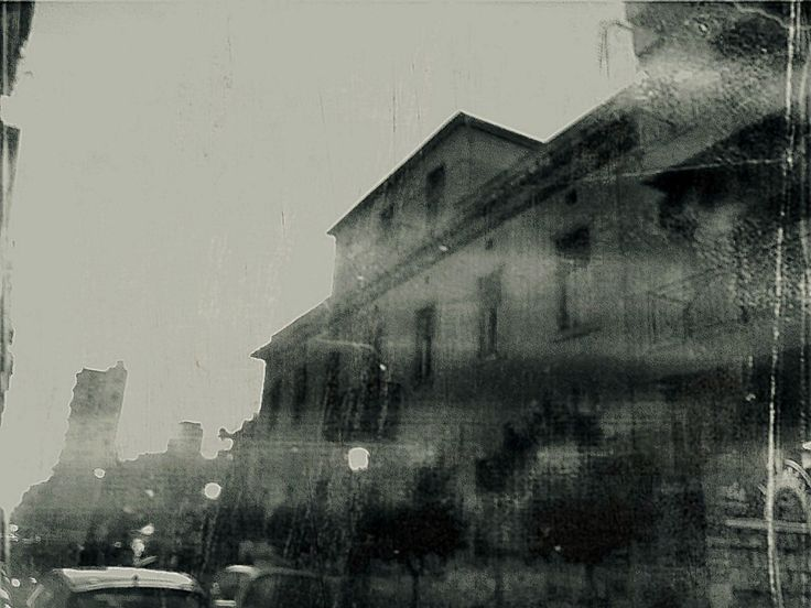 neoclassical buildings in patras #2 with 1945 cam effect