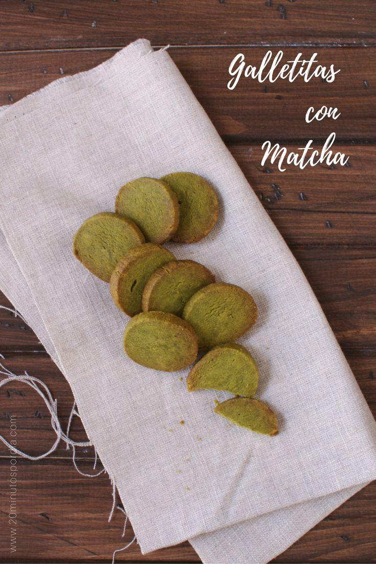 Súper #galletitas con #matcha. Ideales para #acompañar el #té. #receta en el blog!