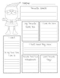 Classroom Freebies: Secret Santa