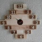 Look Like Unique Pallet Wall Clock