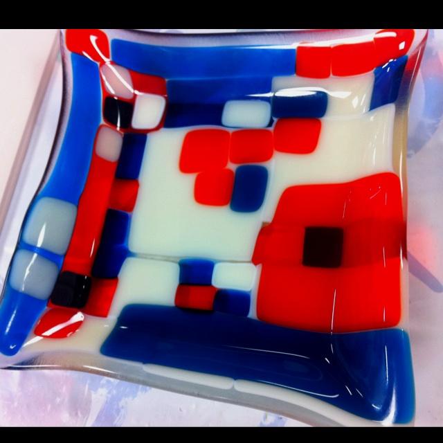 glass fusion i created .