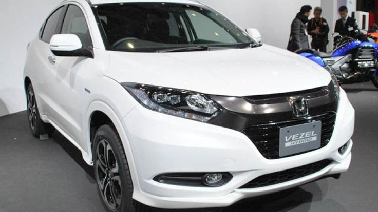 Incredible and Attractive Honda Vezel