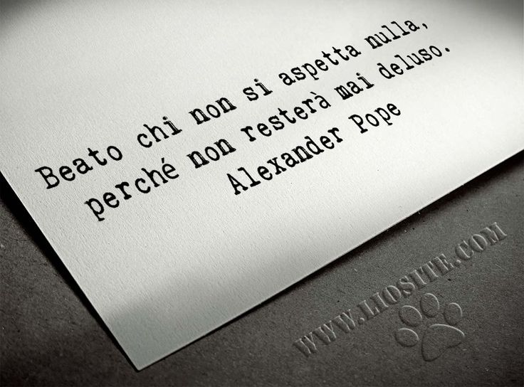 Alexander Pope - Beato chi ..