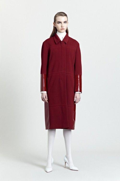 Siloa & Mook AW13: Ibba Coat.  #siloamook #fashionflashfinland #fashion #fashiondesigner #designer #aw13 #collection #Finland #Helsinki