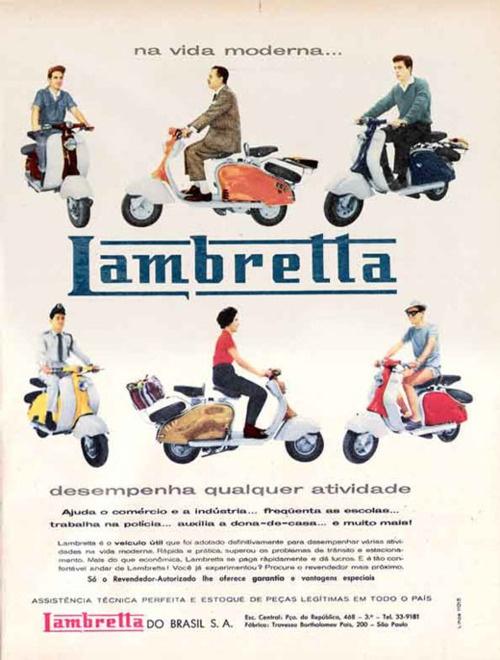Brazilian Lambretta Ad