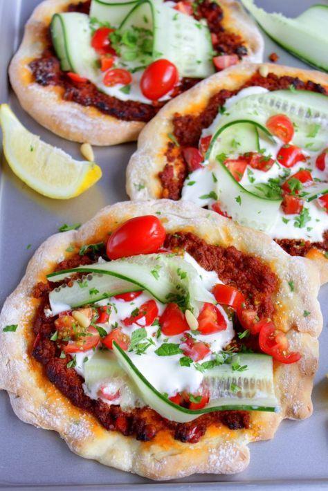 Mini Türkische Pizza mit Blitz-Teig