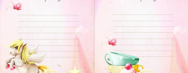День рождения принцессы (пригласительный, гостевые карточки и много чего еще…)