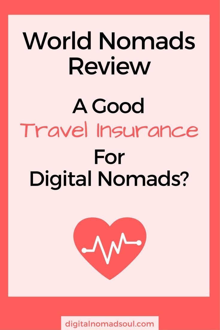 travel insurance. But what about when you are a digital nomad? So you travel and make money online with your remote job? What kind of international health care do you need? This personal review will explain you in detail if one of the biggest travel insurance companies - World Nomads - is a suitable option for those you like to travel and work at the same time. #traveltip