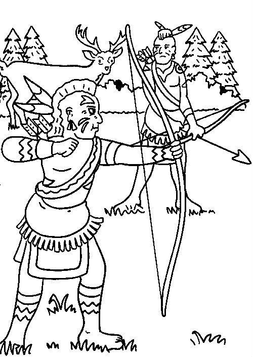 Medium Indians Hunting