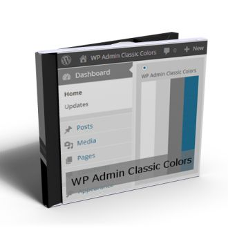 WP Admin Classic Colors product. Our free WordPress plugin adds a new admin color scheme to your WP site, strikes a balance between earlier classical view and new flat view.