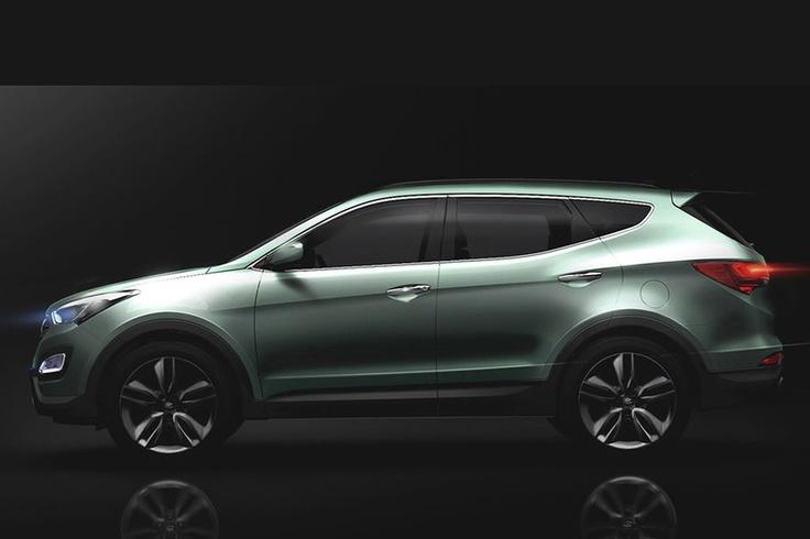 new Hyundai Santa Fe...