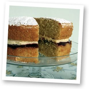 Victoria Sponge with Jam & Buttercream - Gluten & Dairy Baking Recipes