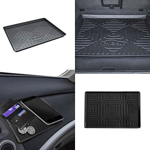 """FH Group F16407 Black 32"""" Premium Multi-Use Cargo Tray Liner w. Silicone Anti-slip Dash Mat. For product info go to:  https://www.caraccessoriesonlinemarket.com/fh-group-f16407-black-32-premium-multi-use-cargo-tray-liner-w-silicone-anti-slip-dash-mat/"""