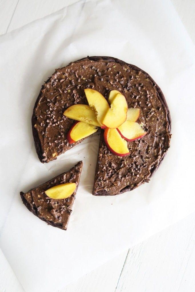 Chocolade avocado taart met choco frosting