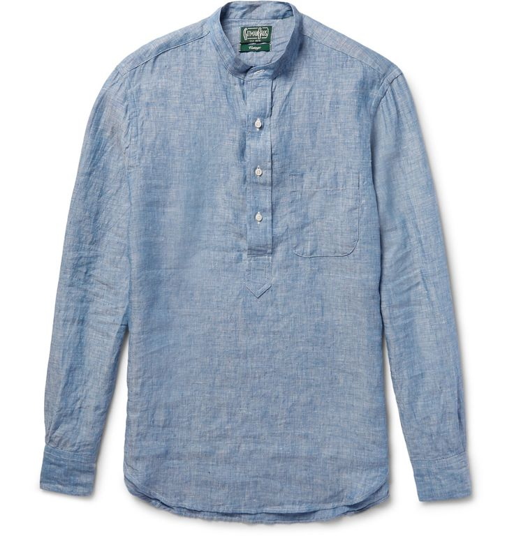 Gitman Vintage - Linen-Chambray Shirt