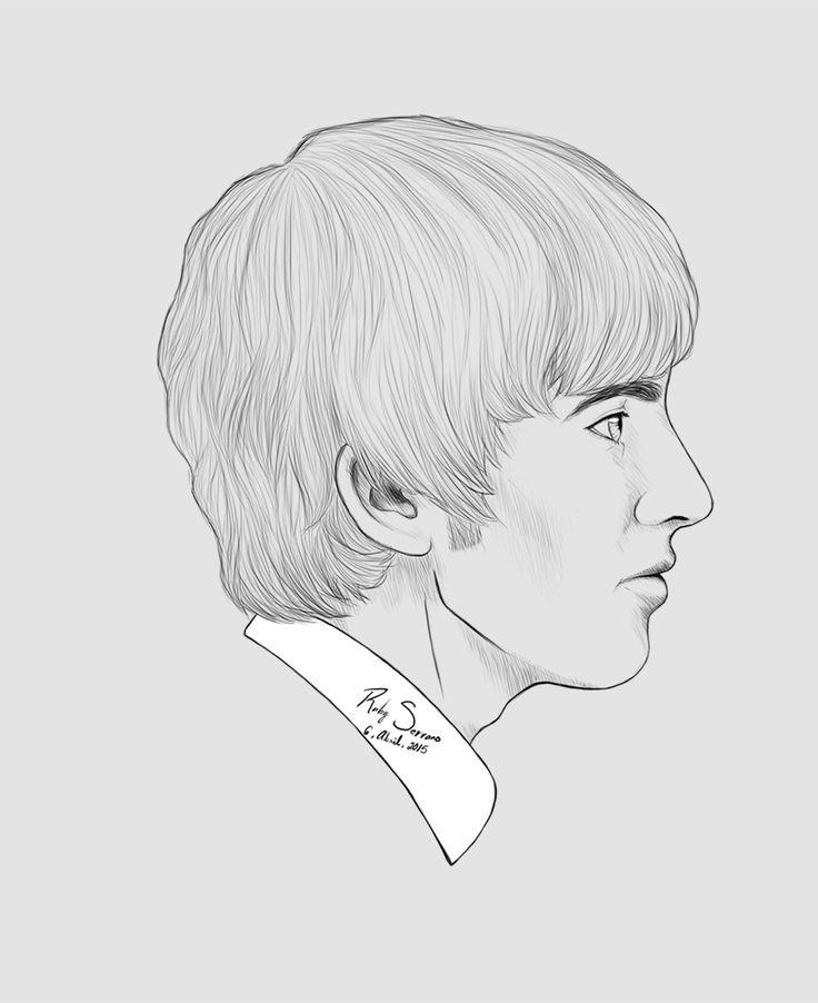 George Harrison. #photoshop CS6 #beatles #guitarrist