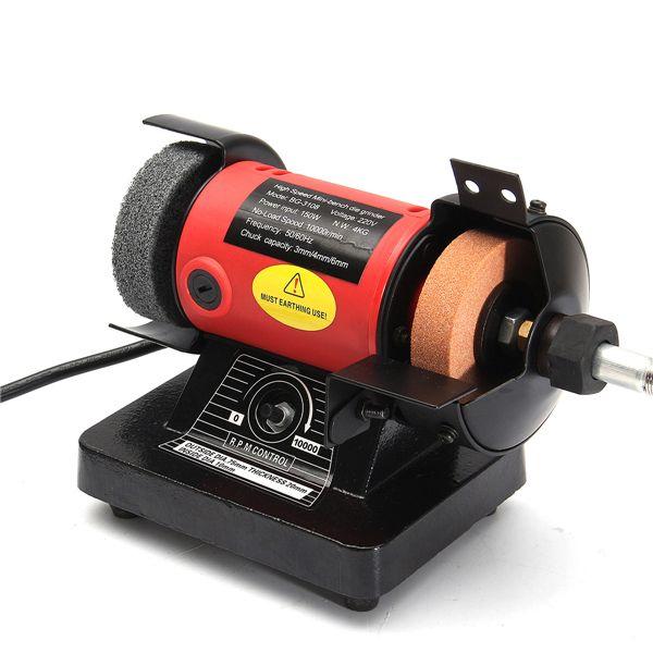 220v 150w micro elétrico bancada moedor roda polimento ferramenta