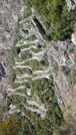 Behoorlijk steil in de Franse Alpen