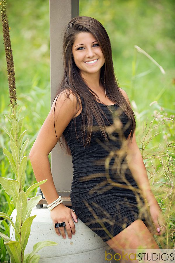 #senior #girl #outside