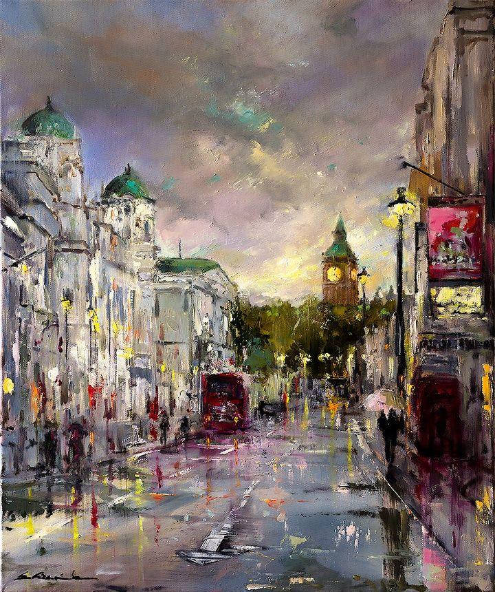 Ewa Czarniecka - Colorful London