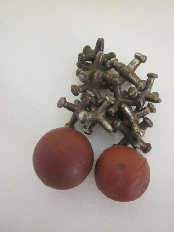 vintage toy game metal playing toy JACKS and BALL SET jax I can remember playing jacks as a little girl. Vickie