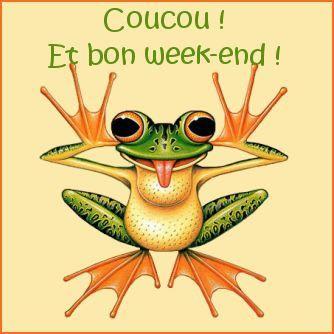 Coucou! Et bon week-end!