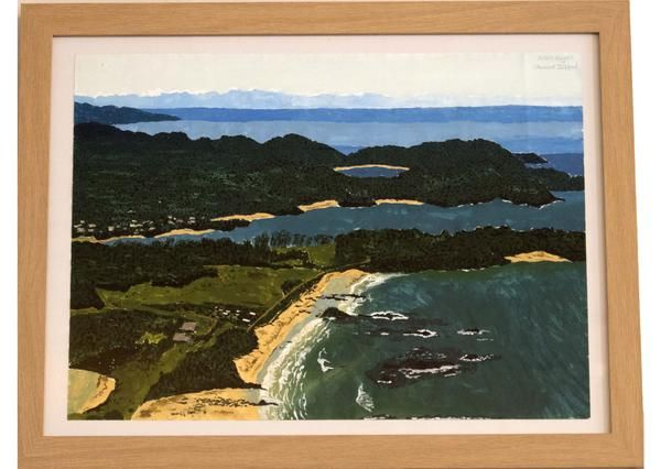 Where will your art take you next? https://studio110nz.com/collections/allan-hegan/products/stewart-island #NewZealand #Travel #Wanderlust #Studio110NZ #Art #Creativity #Passion