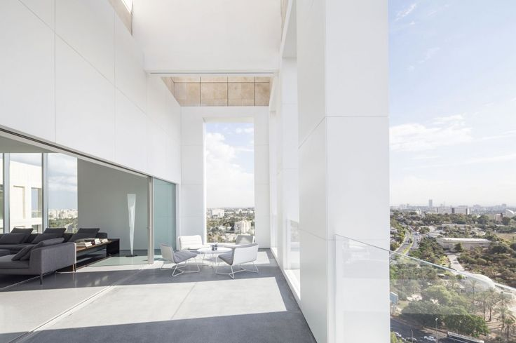 Layers of White by Pitsou Kedem Architects