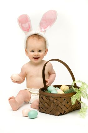 5 fun ideas for baby's first Easter